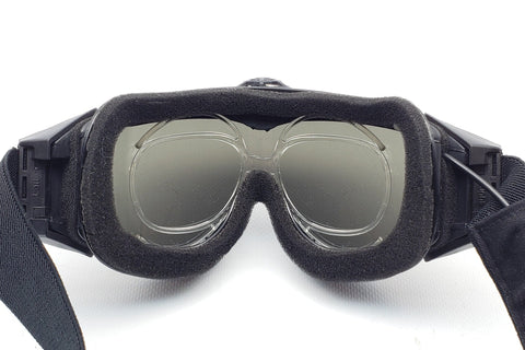 In use with ESS Style Turbo Fan Airsoft Goggles