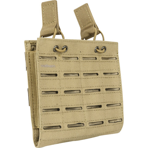 M4 Double Mag Pouch Laser Cut Tan