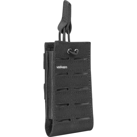 M4 Single Mag Pouch Laser Cut Black