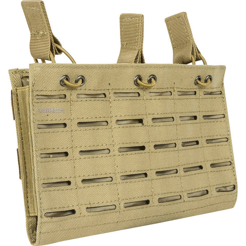 M4 Triple Mag Pouch Laser Cut Tan