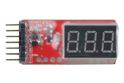 LiPO Voltage Monitor and Alarm