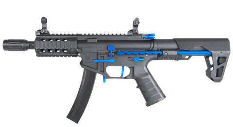 King Arms PDW 9mm SBR Shorty Black Blue Limited Edition