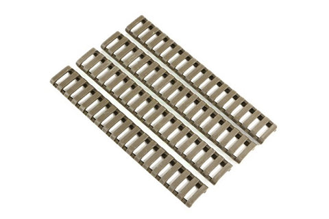 Ladder Style Strechable Clip On Rail Covers (DE)