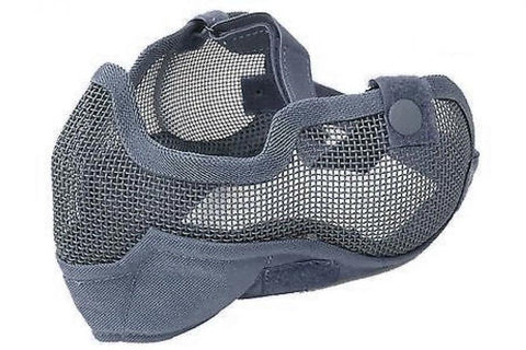 Mesh Mask with Ear Covers Black