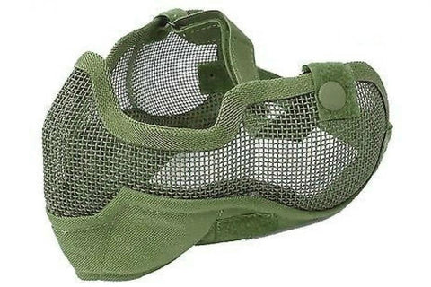 Mesh Mask with Ear Covers OD