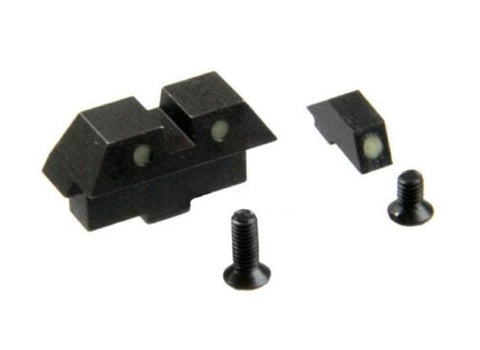 5KU Steel Night Sights for Marui G Series G17