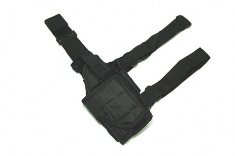 Universal Adjustable Leg Holster Black