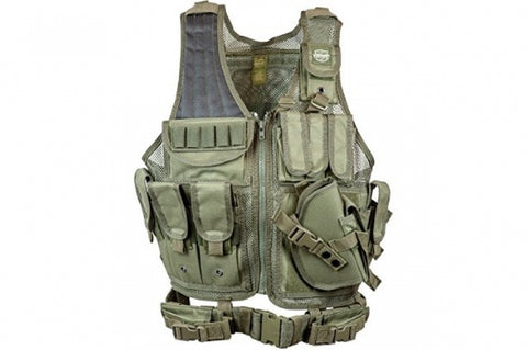Valken Cross Draw Vest OD