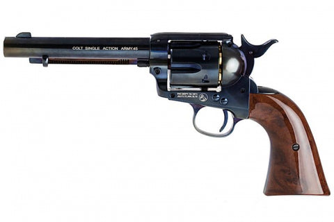 WinGun Colt SAA .45 Revolver Blue / Wood