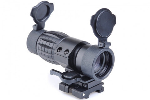 4x Magnifier with flip to side mount