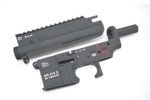 SRC HK416 Metal Receiver Set + Hop Up