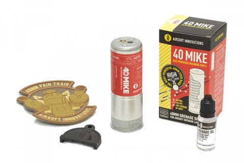 Airsoft Innovations 40 MIKE Gas Magnum Shell