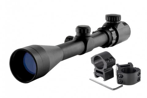 3-9x40mm Red Green Illuminated Sniper Scope with rings