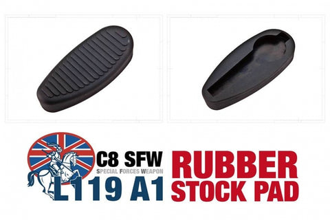 Warlord Tactical C8 Rubber Stock Pad