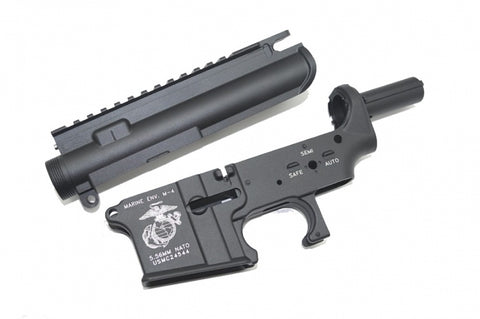SRC M4 Metal Receiver Set + Hop Up (USMC)