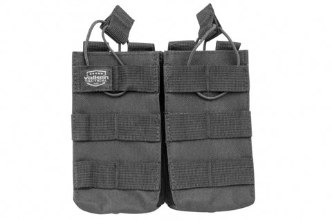 M4 Double Mag Pouch Black