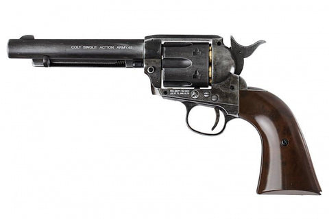 WinGun Colt SAA .45 Revolver Antique Black