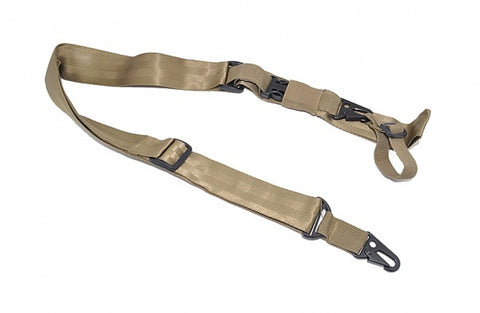 Tactical 3 Point Sling Tan