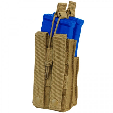 Condor Single Stacker 5.56 Mag Pouch Tan