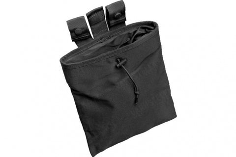 Large Roll Up Dump Pouch BK