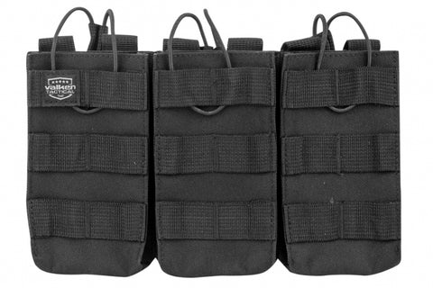 M4 Triple Mag Pouch Black