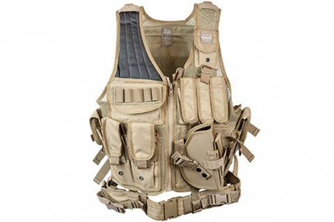 Valken Cross Draw Vest TN