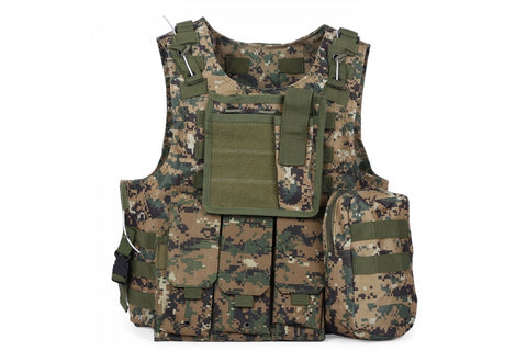 FSBE Amphibious Assault Vest Digital Woodland (MARPAT)