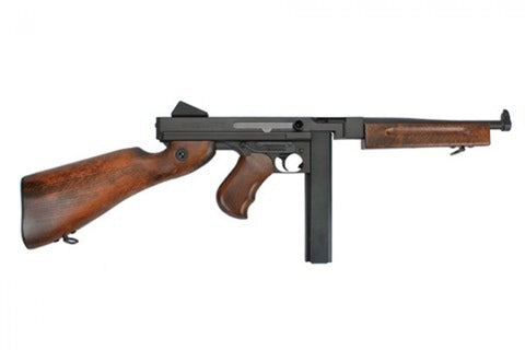 King Arms Thompson M1A1 Real Wood