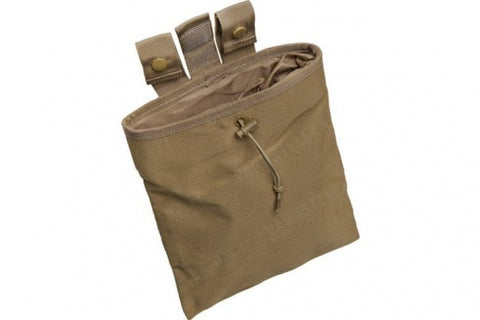 Large Roll Up Dump Pouch Tan