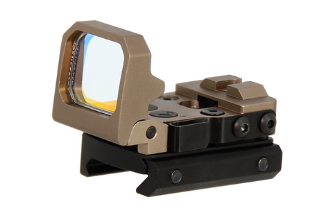 Flip Up Reflex Red Dot Sight DE