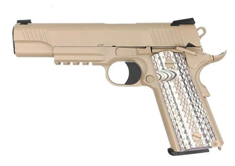 SRC SR45A1 (COLT M45A1) Tan CO2