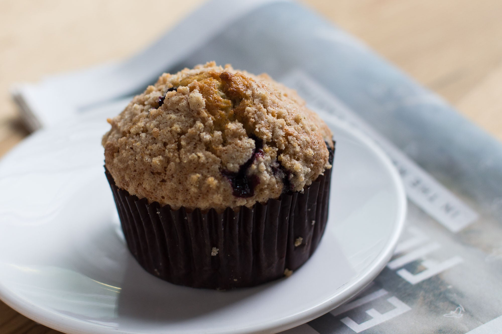 Blueberry Streusel Muffin Six Pack