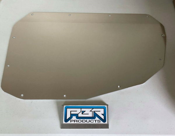 PBR Products Aluminum A/C Delete Panel Fits 1978-1988 G-Body Malibu Cutlass