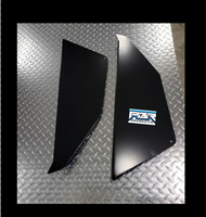 PBR Products Honda Talon lower doors - Aluminum Powder Coat