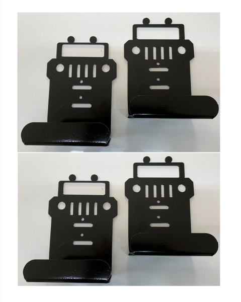 Jeep Wrangler Door Hanger Garage ( set of 4 ), JK JKU 4 Door Jeep
