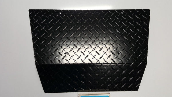 EZGO TXT Golf Cart Black Diamond Plate Front Shock Cover