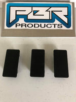 3 Pieces - Rocker Panel Hole Switch Cover - Blank - Hole Filler - Part#BLF3