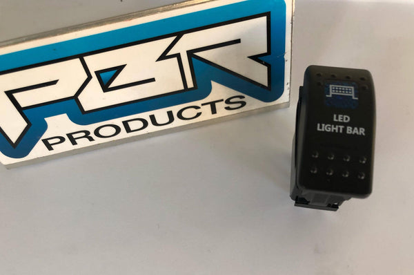 PBR Products BLUE LED  Light bar SWITCH