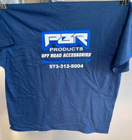 Copy of PBR Products navy blue signature t-shirt size Large