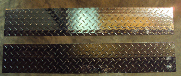 Boat Trailer Diamond Plate Fender Covers protect your fender for stepping wow