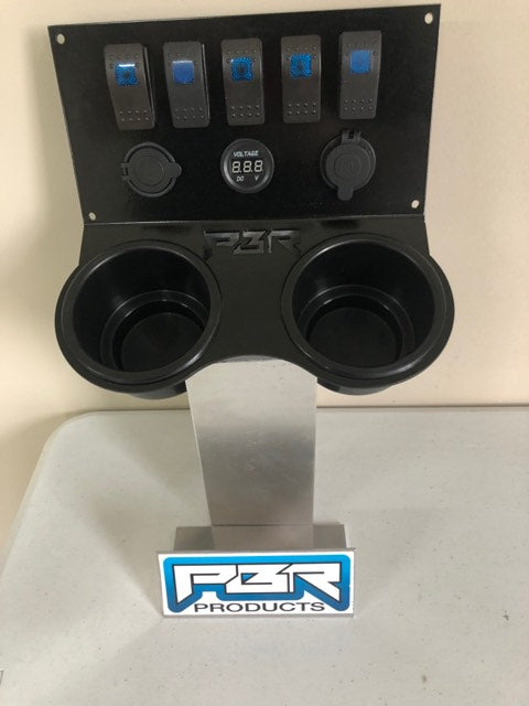 Jeep Lift Kits >> Honda Pioneer 1000 Cup holder COMPLETE w/ voltmeter USB CIG Outlet 5 s – PBR Products