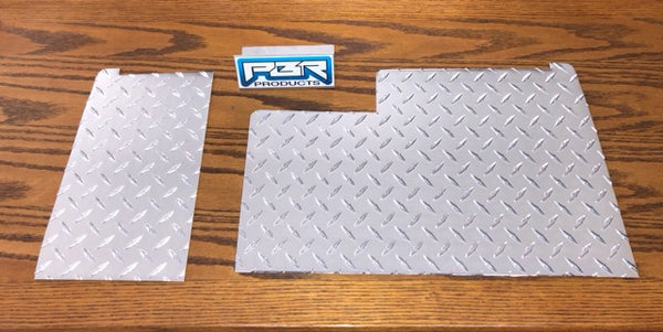 Yamaha G8 G14 G16 G19 G21 G22 Diamond Plate Front COWL kit 2 pieces