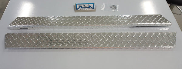 Yamaha G2 G9 Golf cart Diamond Plate Rocker Panel covers