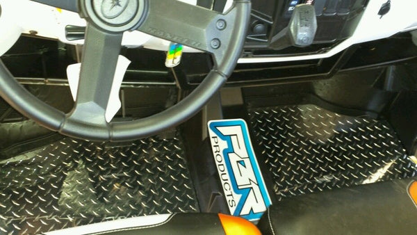 POLARIS RANGER 1000 XP 2017 DIAMOND PLATE FLOOR BOARDS - Part#PR1000DPF