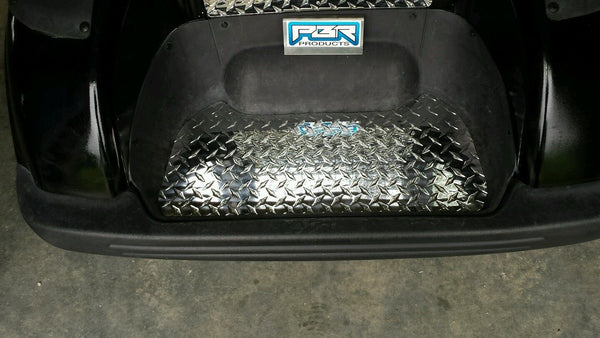 YAMAHA DRIVE G29 GOLF CART-DIAMOND PLATE BAGWELL PLATE WOW