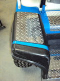 Ezgo Marathon Golf Cart Diamond Plate NO STEP COVERS Custom look