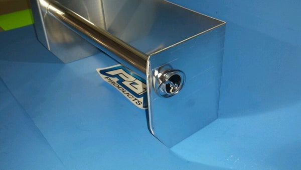 Aluminum Paper Towel Rack Holder Shop Cabinet Race Car Enclosed Trailer NHRA