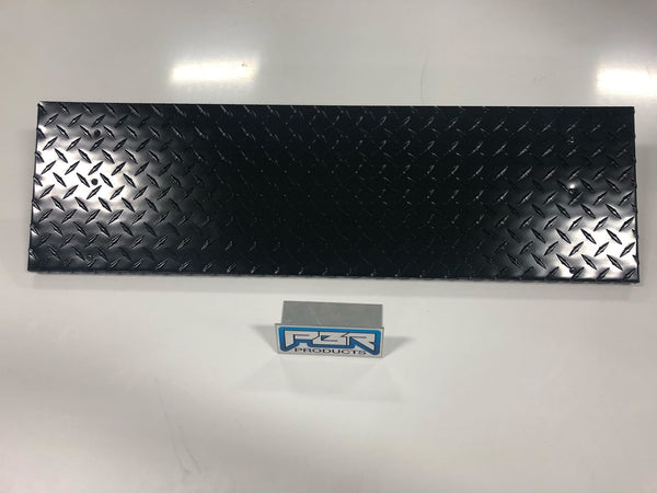 "PBR Products 8"" Diamond Plate Folding Shelf for Pit Boss 700FB  Pellet Grill"