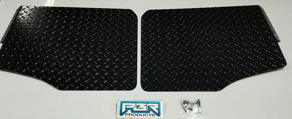 POLARIS RANGER 900 XP FULL SIZE 2013 and UP DIAMOND PLATE FLOOR BOARDS BLACK