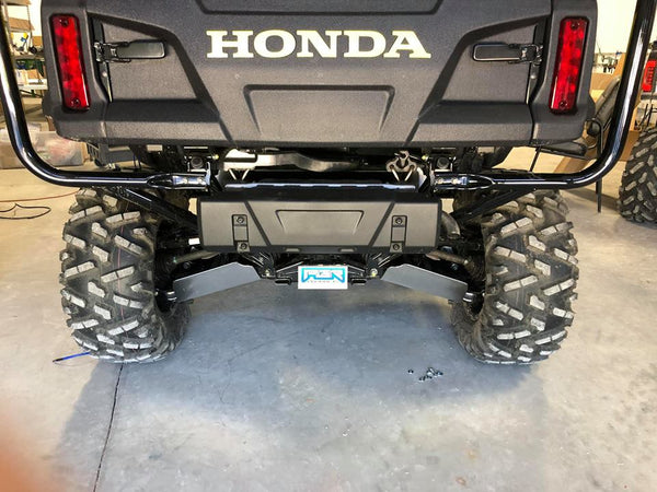 2016-2020 Honda Pioneer 1000 UTV ALUMINUM REAR A-ARM GUARDS SKID - Part# HP1002RAA